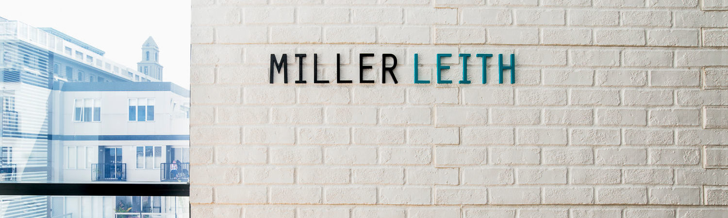 Miller Leith on the wall